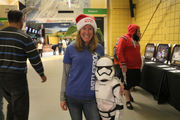 Seen@ Worcester Railers game against Adirondack Thunder