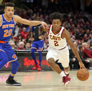 Cavs guard Collin Sexton is asserting his new power on the Cleveland sports scene. (Joshua Gunter, cleveland.com)