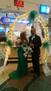 Couple that met as RTA employees marry at Tower City Rapid Station (photos)