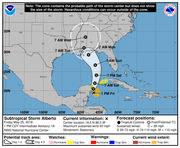 Subtropical Storm Alberto is moving into the Gulf of Mexico: What to know Friday