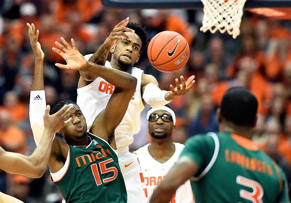 Photos Syracuse Basketball Vs Miami 2019 Syracuse Com