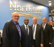 Scenes from Northfield Bank's grand opening cocktail reception in Great Kills