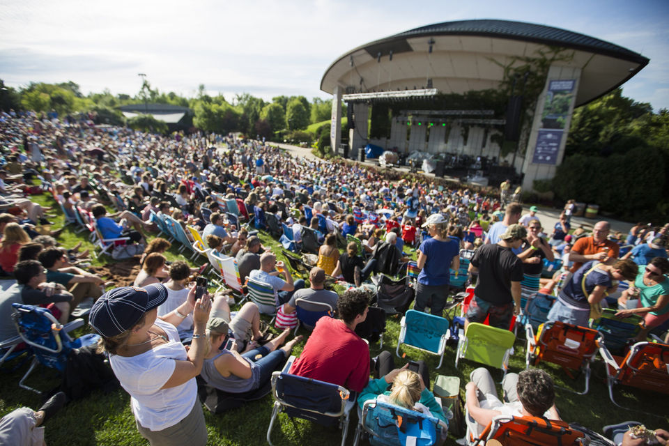 Meijer Gardens announces 31 acts for its 2018 summer concert series