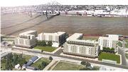Developer plans a 345-unit apartment complex for Algiers riverfront