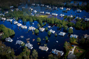 A look at the latest photos of Hurricane Florence's impact on The United States.