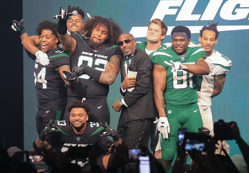 release date: 654e1 473fd New York Jets unveil new uniform design | Fans rip the wait ...