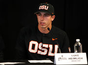 Inside Luke Heimlich's senior season with the Oregon State baseball team