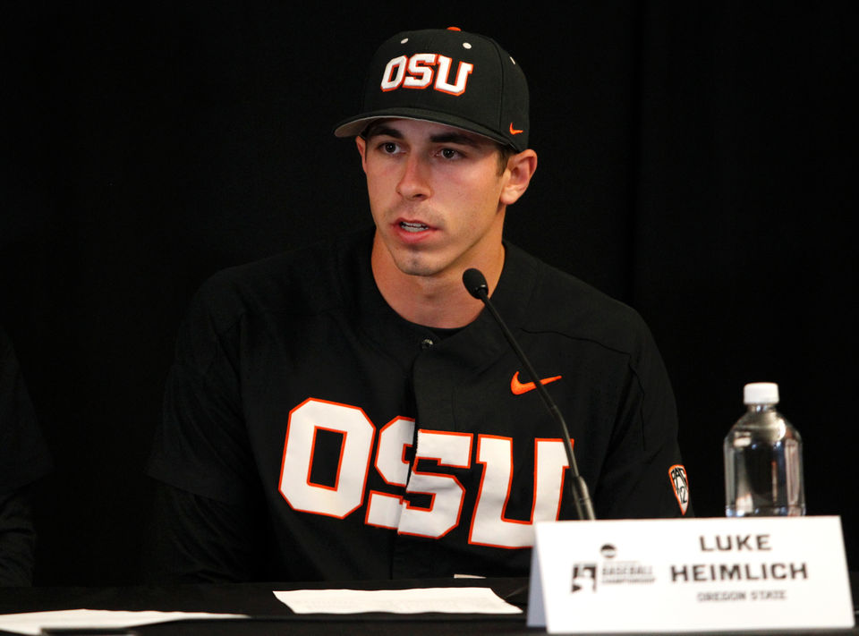 Oregon State Beavers baseball vs LSU Tigers in Corvallis Region