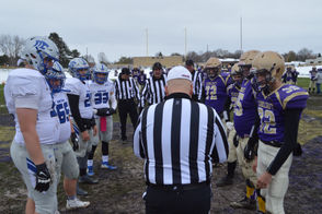 Photos from the Division 6 high school football regional final between Schoolcraft and Montague.