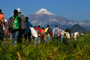 Migrants weigh whether to stay in Mexico or trek to US (photos)