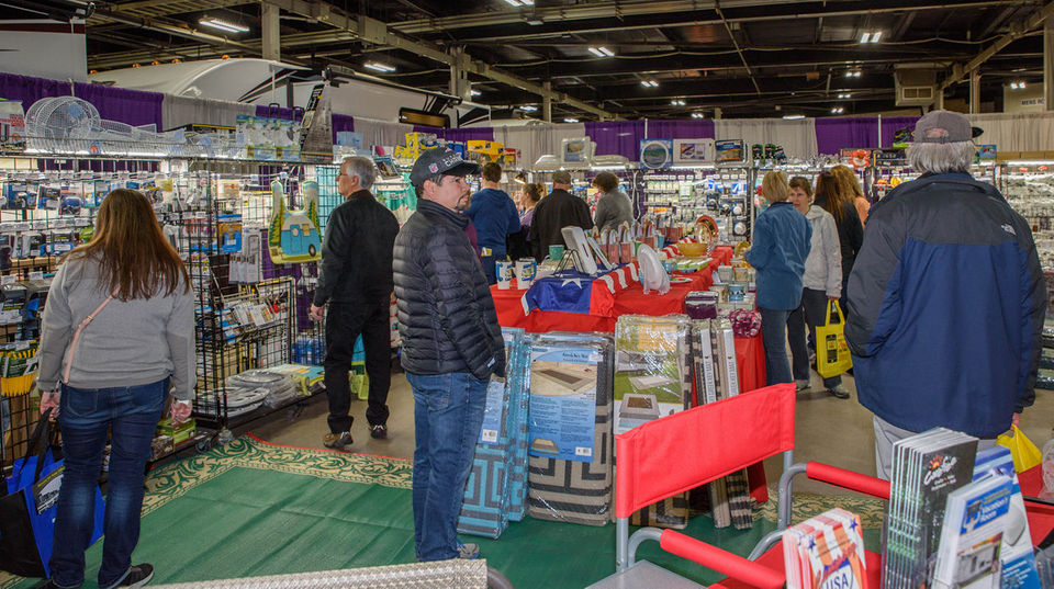 Seen@ 2019 Springfield RV, Camping & Outdoor Show at Eastern States Exposition
