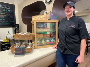 614 S. Crouse Ave. Michele Rochkind opened her café inside the University Area Apartments building in summer 2017.