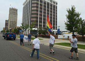 Photos from the second Jackson Pride parade and festival.