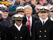 President Donald Trump headlines 119th Army-Navy Game | Best sights, pomp and circumstance from historic rivalry (PHOTOS)