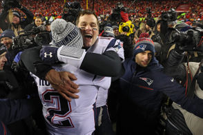 By Nick O'Malley | nomalley@masslive.com The New England Patriots are heading to Super Bowl LIII thanks to a thrilling win against the Kansas City Chiefs -- one of the all-time great wins in franchise history. Whether it was Tom Brady's effort in the comeback, the defense overcoming tall odds or the emotions of getting to a third straight Super Bowl, the reactions from the Patriots locker room were wild and exuberant. Here's a roundup of the best reactions from Patriots players after Sunday's win as they started to celebrate the win in the AFC Championship Game.