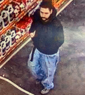 Chicopee Police are asking for help to identify this man caught on camera using a stolen credit card.