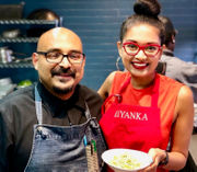 Chef Priyanka Naik from Annadale dishes on Twitter HQ showcase