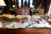 The N.J. governor's mansion just got its holiday makeover. Take a peek.