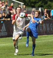 Jack Fulton's two goals lead UMass men's soccer over Central Connecticut State (photos)