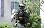 Dogs pulled from Forks fire as crews battle flames and heat (PHOTOS)