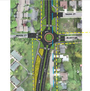Feedback on plan for five Ann Arbor roundabouts being collected online