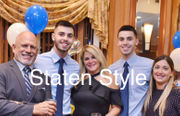 Staten Island's Best Dressed: Baby shower at Old Bermuda Inn to an engagement party at Marina Cafe