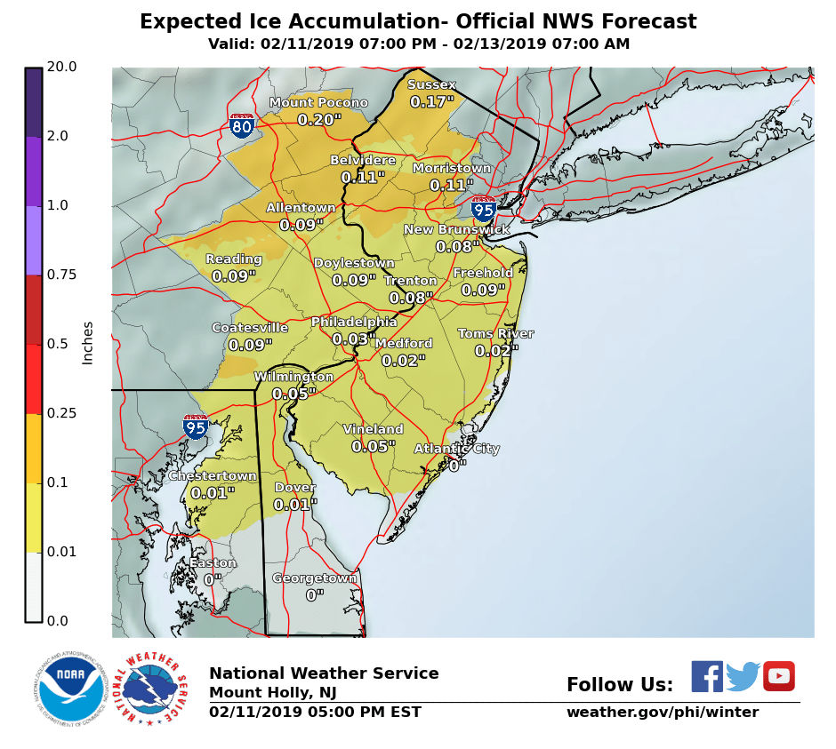 N J  weather: Snow predictions from 17 experts as messy
