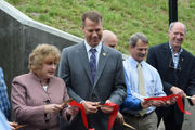 Northampton bike path tunnel under railroad tracks celebrated at grand opening