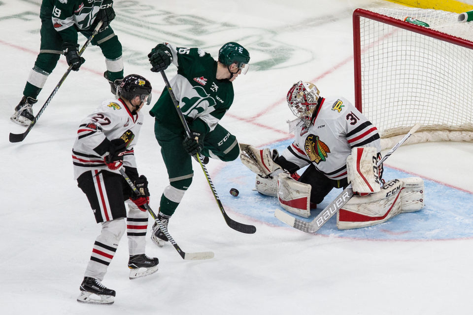 WHL: Everett Silvertips Crush Portland Winterhawks 6-0 In WHL Playoffs Game 2, Even Series At 1-1