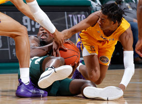 EAST LANSING -- Michigan State will head to Las Vegas on a hot streak. The No. 10 Spartans easily downed Tennessee Tech, 101-33, on Sunday night at the Breslin Center to record its third straight win. The 68-point win ties the largest margin of victory for Michigan State in Breslin Center history and is tied for the fifth-largest margin of victory in program history. The Spartans haven't won a game by 68 points since 1992, when it also beat Morehead State by 68. Michigan State (3-1) ended the first half on a 19-point run, then scored the first 11 points of the second half to make it 30 points in a row. The Spartans dominated in nearly every facet. It went to the low post early, with Nick Ward proving he's healthy and generating early offense. It defended well, holding Tennessee Tech to just 14 first-half points. The Spartans cut down their turnovers dramatically at eight, including four at with 11 minutes left in the game, showing marked improvement in two of Tom Izzo's biggest areas of focus. And after a 3-for-14 start shooting, the Spartans collectively found their stroke. In a four-minute span early in the second half, the Spartans made five straight 3-pointers en route to a 14-for-33 performance from distance. Ward led all scorers with 23 points, going 10-for-12 from the field. Cassius Winston had 19 points on five 3-pointers, and Joshua Langford had 16 points. Now, Michigan State will head to the Las Vegas Invitational, where the competition will get significantly harder. The Spartans will play UCLA on Thursday in a semifinal game, then either Texas or North Carolina on Friday. Here's four observations from Sunday's game: