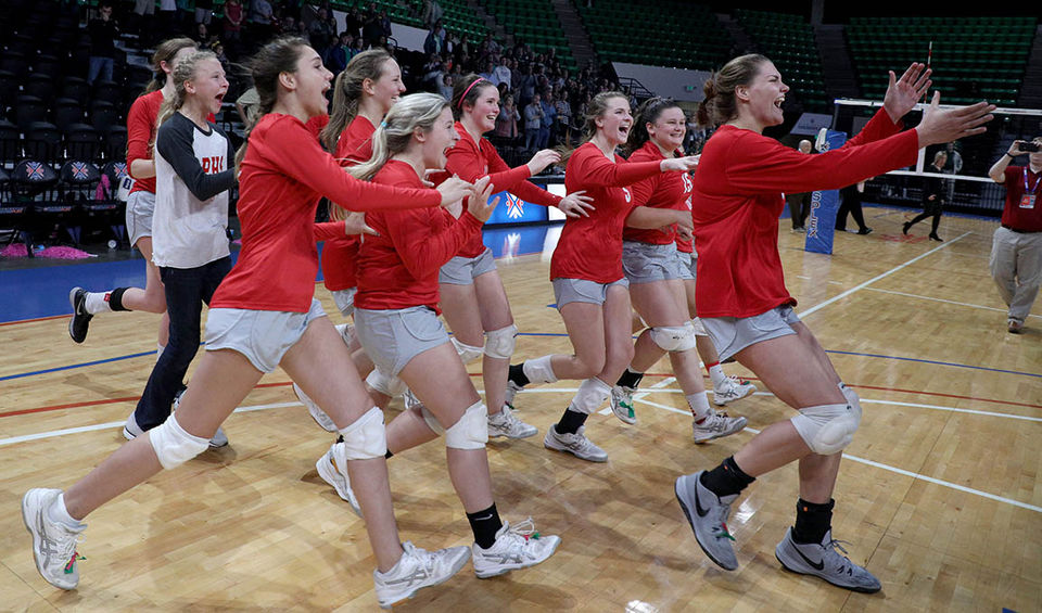 High School Sports High School Girls Volleyball Alcom