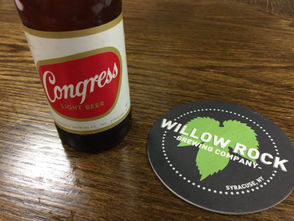 The Onondaga Historical Association and Willow Rock Brewing team up to launch a new version of Syracuse's Congress Beer.