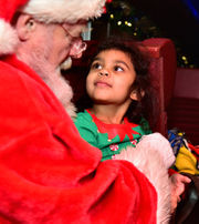 Polar Express train trip from Utica to the North Pole (photos)
