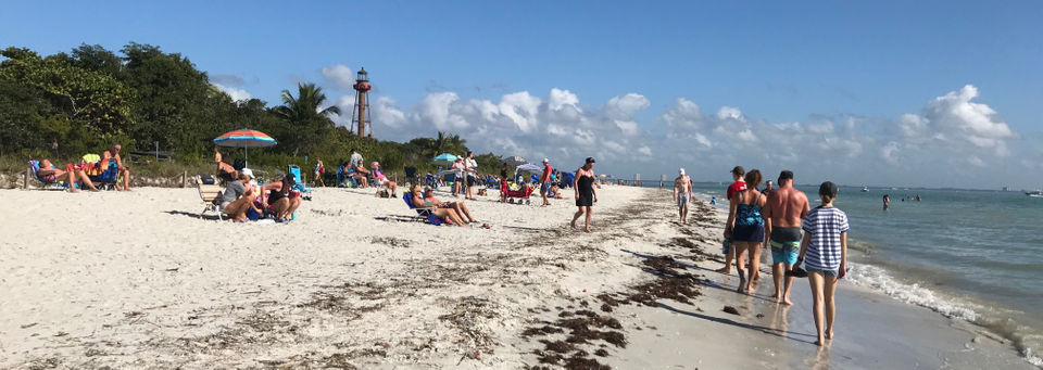 Sanibel, southwest Florida beaches are back in business, as red tide subsides