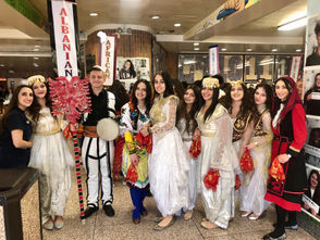 STATEN ISLAND, N.Y. -- Susan Wagner High School recently showcased the borough's diversity during its annual International Festival, a multi-cultural extravaganza meant to honor the spirit of Staten Island's community. The festival, now in its 20th year, was presented Friday and Saturday and featured some 600 students in brilliant costumes who sang and performed traditional dances indicative of their heritage.