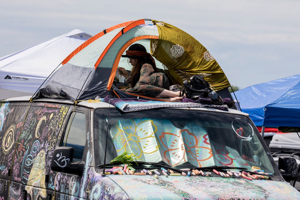 <p>ROTHBURY, MI - It's a happy forest so far, especially for those who remembered to bring experience-enhancing items.</p> <p>In its eighth year, this is the second time that Electric Forest will be held during two separate weekends. Weekend one is June 21-24. Weekend two is June 28-July 1.</p> <p>The festival features a wide range of music, and appeals to people from across the United States, and even from outside the country.</p> <p><br></p>