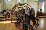 For Palmer steampunk master Bruce Rosenbaum, it's all about adapting