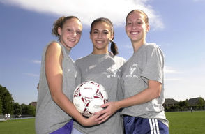 These are some of St. Joseph by-the-Sea's girls' soccer All Stars that were named more than once over the years.