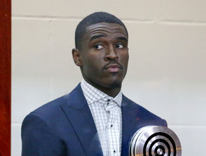 Boston Celtic guard Jabari Bird was arraigned Thursday, Sept. 13, 2018 on charges of assaulting a romantic partner.