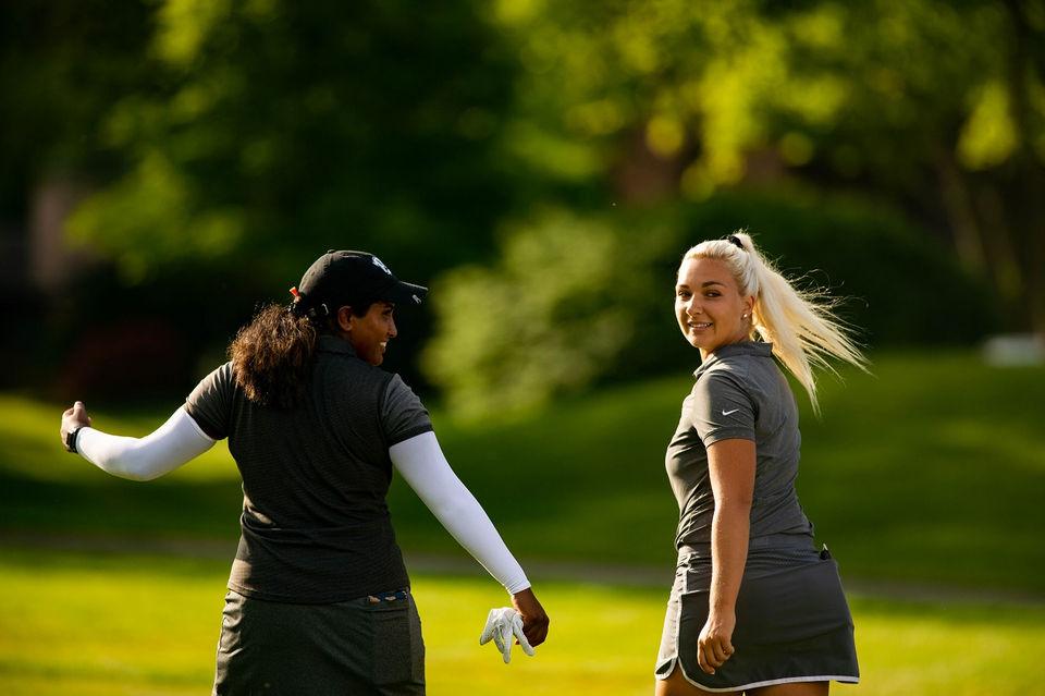 Michigan team enjoys tough introduction to LPGA Tour