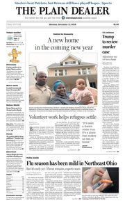 The Plain Dealer's front page for December 17, 2018