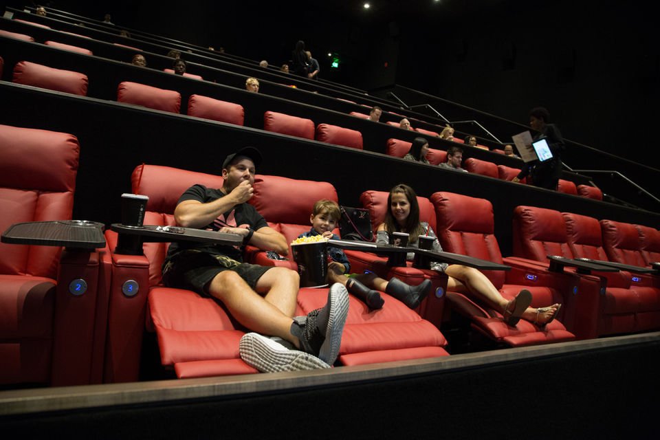 Silverspot Cinemas at Pinecrest offers dining and movies in