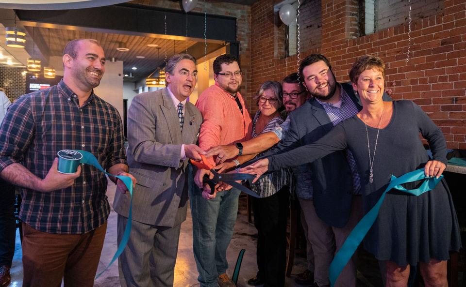 Grand opening of BarKaya sushi and ramen restaurant in downtown Springfield