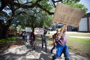 New Orleans students walkout to honor Columbine shooting victims, call for gun reform