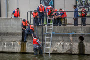 Man pulled from river in downtown Flint
