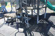 Smoldering playground equipment leads to arson investigation in Kenner