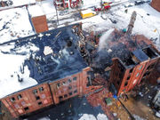 Officials ID 2 firefighters killed in York building collapse, 2 others injured expected to survive