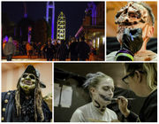 Behind the scenes at Cedar Point's Halloweekends:  'Screamsters' put on their monster makeup in Haunt Central (photos, video)