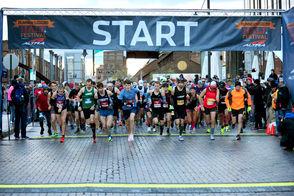 2018 Runner's World Half Marathon on Sunday in Bethlehem.