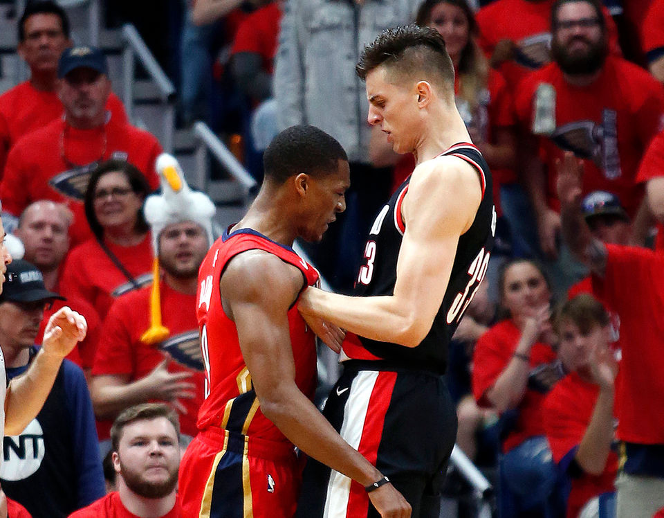 Game 4 photos: Portland Trail Blazers at New Orleans Pelicans